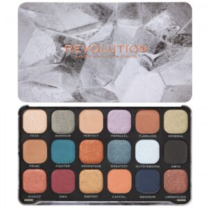 Παλέτα σκιών Makeup Revolution Forever Flawless Eyeshadow Palette - Optimum