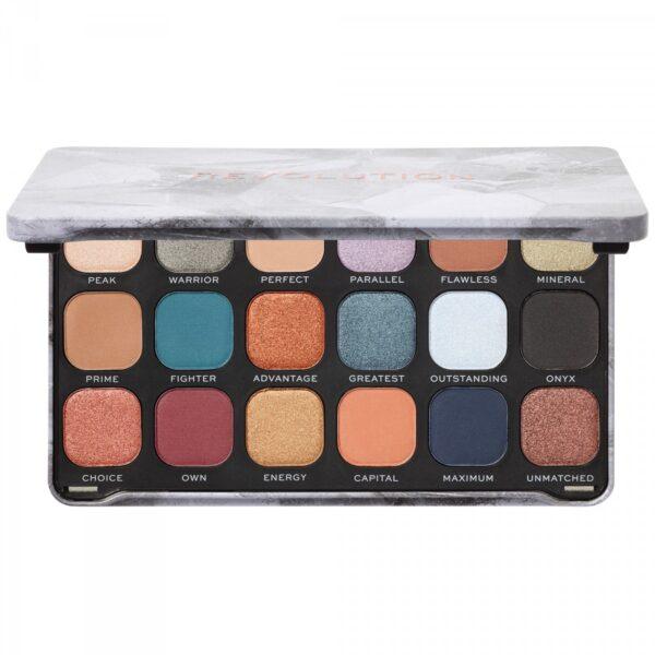 Παλέτα σκιών Makeup Revolution Forever Flawless Eyeshadow Palette - Optimum
