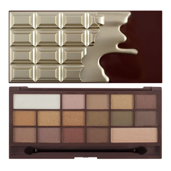 Παλέτα σκιών Revolution Palette Chocolate Golden Bar