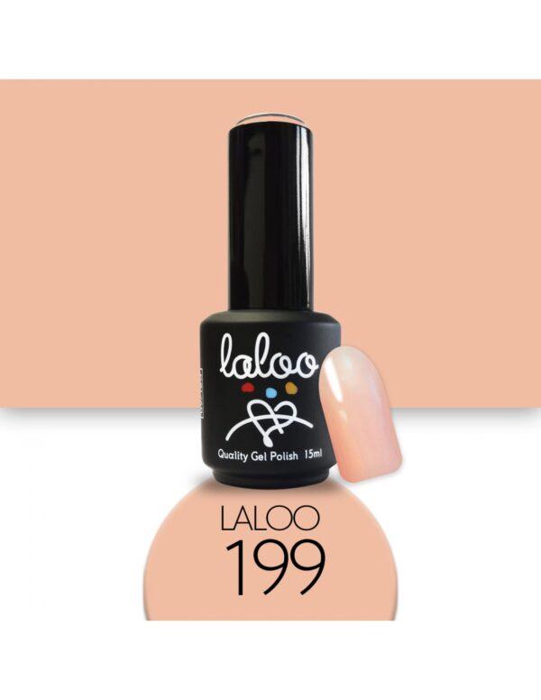Ημιμόνιμο βερνίκι Laloo Cosmetics 15ml - N.199 Nude προς σομόν