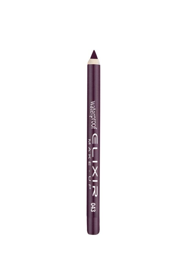 Αδιάβροχο μολύβι χειλιών Elixir 1.4g – Midnight Mauve 043