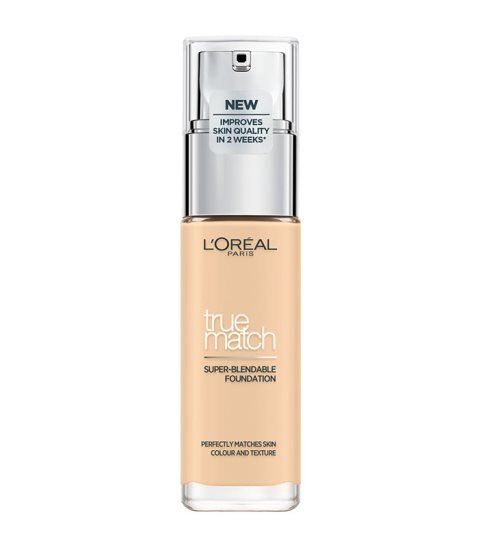 L'Oreal True Match Foundation 30ml - 1W Golden Ivory