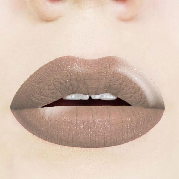 Ενυδατικό κραγιόν με glitter Dido Cosmetics Long Lasting Lipstick No 2018
