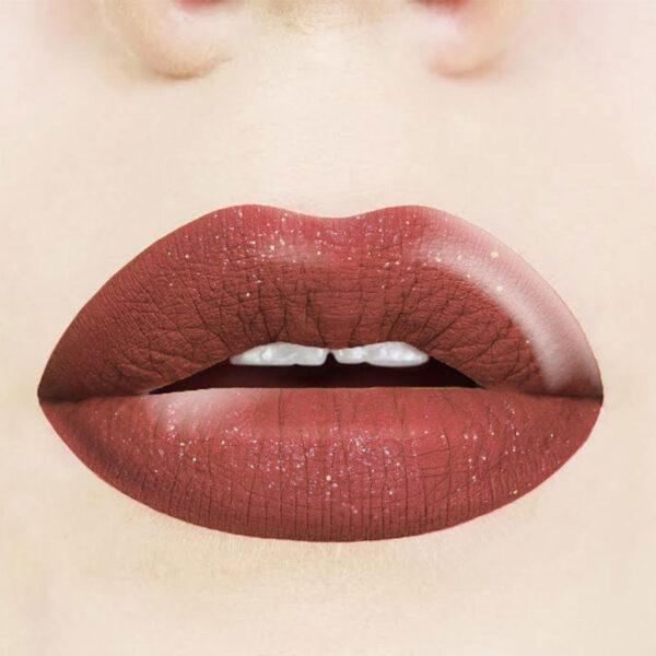 Ενυδατικό κραγιόν με glitter Dido Cosmetics Long Lasting Lipstick No 2019