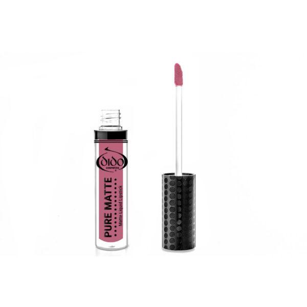 Υγρό κραγιόν Dido Cosmetics Pure Matte Liquid Lipstick No 22