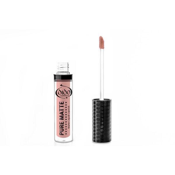 Υγρό κραγιόν Dido Cosmetics Pure Matte Liquid Lipstick No 31