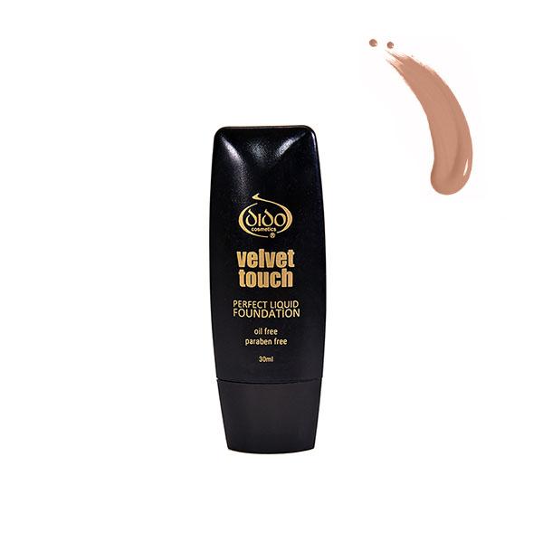 Dido Cosmetics Velvet Touch Liquid Foundation 30ml No 50