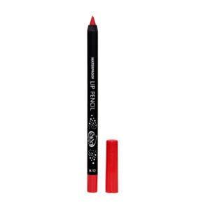 Αδιάβροχο μολύβι χειλιών Dido Cosmetics Waterproof Lip Pencil No12