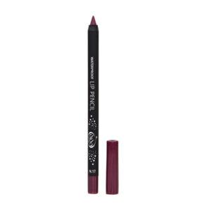 Αδιάβροχο μολύβι χειλιών Dido Cosmetics Waterproof Lip Pencil No17
