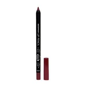 Αδιάβροχο μολύβι χειλιών Dido Cosmetics Waterproof Lip Pencil No25