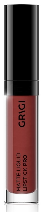 Υγρό κραγιόν Grigi Matte Pro Liquid Lipstick - Red Brown Dark 418