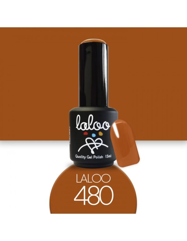 Ημιμόνιμο βερνίκι Laloo Cosmetics 15ml - N.480