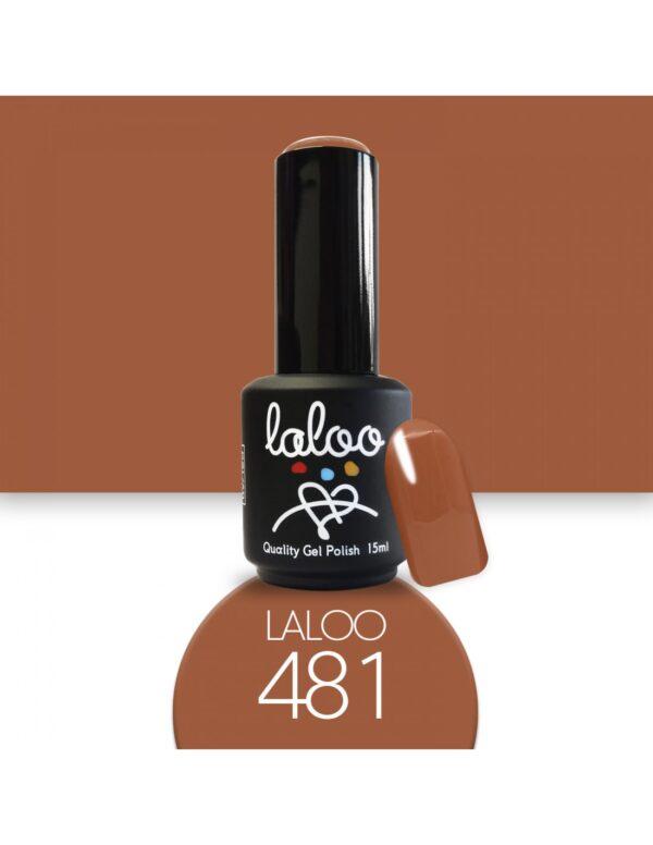 Ημιμόνιμο βερνίκι Laloo Cosmetics 15ml - N.481