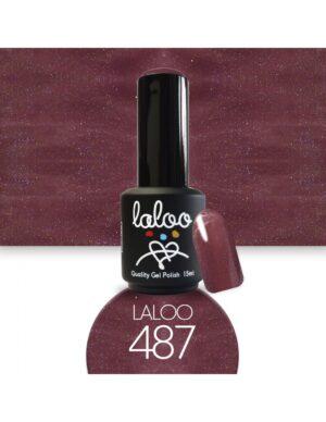 Ημιμόνιμο βερνίκι Laloo Cosmetics 15ml - N.487