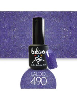 Ημιμόνιμο βερνίκι Laloo Cosmetics 15ml - N.490