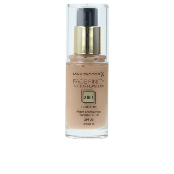 Max Factor Face Finity All Day Flawless Foundation 3in1 30ml - 80 Bronze