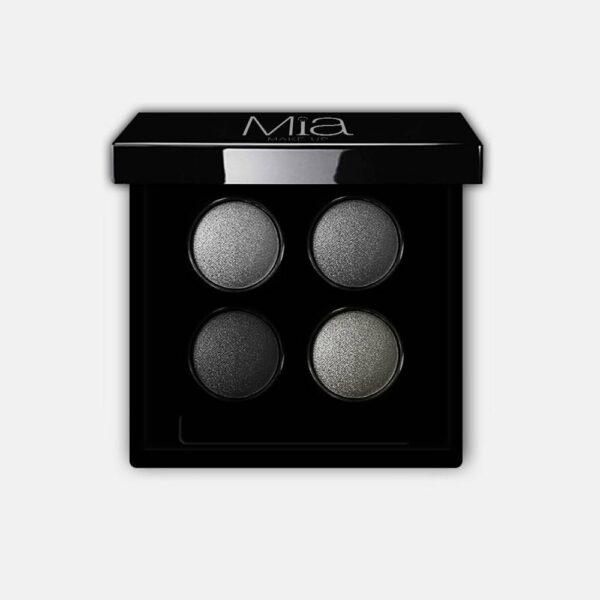 Παλέτα σκιών Mia Cosmetics 4 Eye Light Palette - Greys PL006