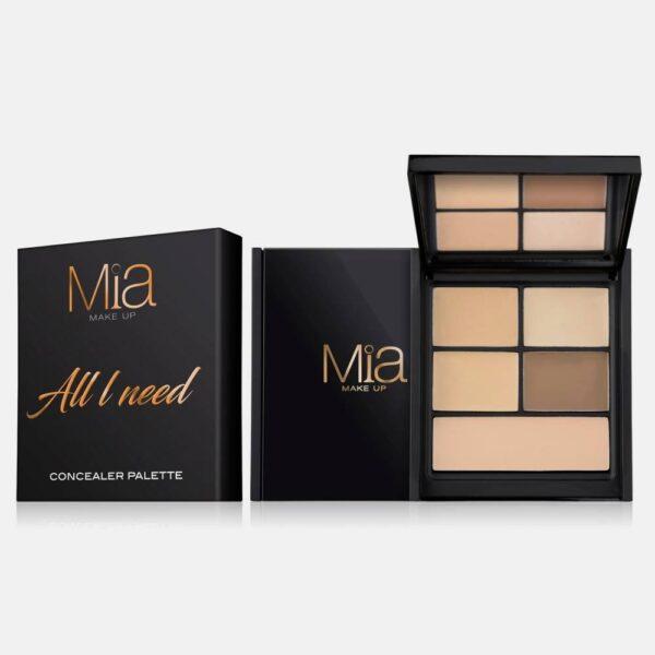 Παλέτα Mia Cosmetics All I Need Concealer Palette - Light ZA012