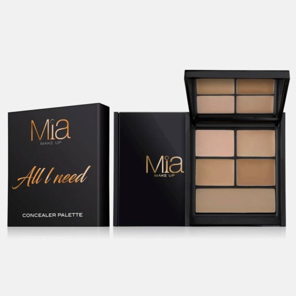 Παλέτα Mia Cosmetics All I Need Concealer Palette - Medium Dark ZA013