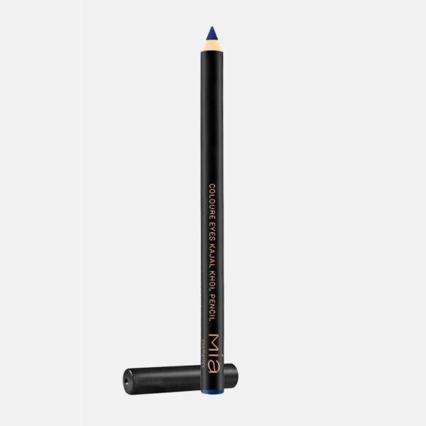 Μολύβι ματιών Mia Cosmetics Colour Eyes Kajal Kohl Pencil - Silver Blue MK003
