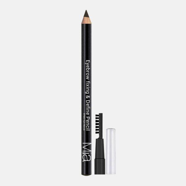 Μολύβι φρυδιών Mia Cosmetics Eyebrow Fixing & Define Pencil - Medium Dark EP003