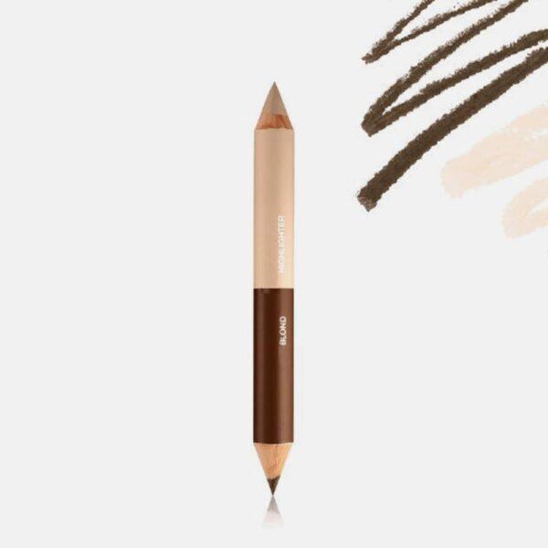 Μολύβι φρυδιών Mia Cosmetics Eyebrow Perfect Duo - Light Colors EP005