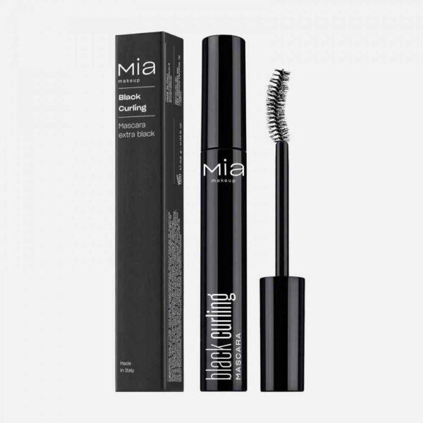 Μάσκαρα Mia Cosmetics Mascara Black Curling