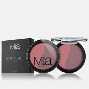 Ρουζ Mia Cosmetics Pretty Face Duo - Violet Duo Ligh FR022
