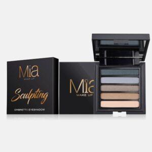 Παλέτα σκιών Mia Cosmetics Sculpting Eyeshadow Palette ΖΑ016
