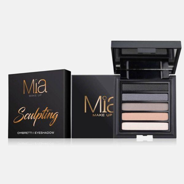 Παλέτα σκιών Mia Cosmetics Sculpting Eyeshadow Palette ΖΑ017