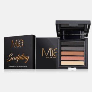 Παλέτα σκιών Mia Cosmetics Sculpting Eyeshadow Palette ΖΑ018