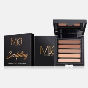Παλέτα σκιών Mia Cosmetics Sculpting Eyeshadow Palette ΖΑ019
