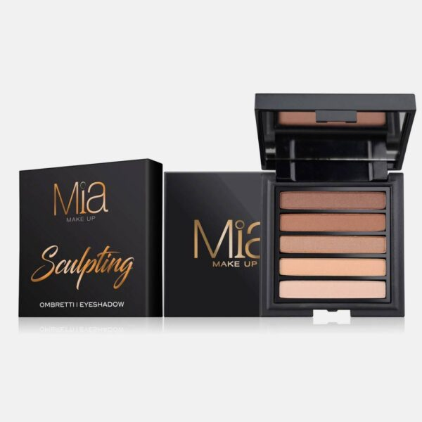 Παλέτα σκιών Mia Cosmetics Sculpting Eyeshadow Palette ΖΑ019