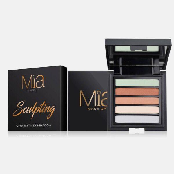 Παλέτα σκιών Mia Cosmetics Sculpting Eyeshadow Palette ΖΑ021