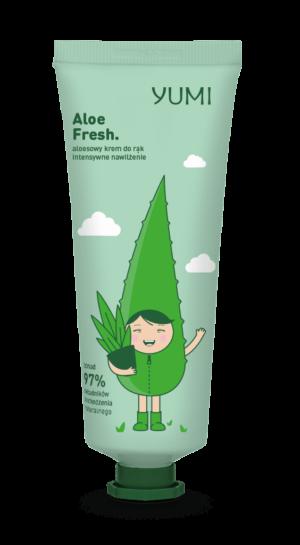 Κρέμα χεριών με αλόη Yumi Aloe Fresh Hand Cream 75ml