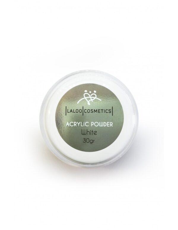 Ακρυλική πούδρα χτισίματος Laloo Cosmetics Acrylic Powder White 30g