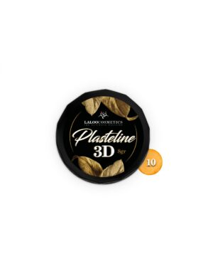 Πλαστελίνη nail art Laloo Cosmetics Plasteline 3D 8g N.10 Πορτοκαλί νέον