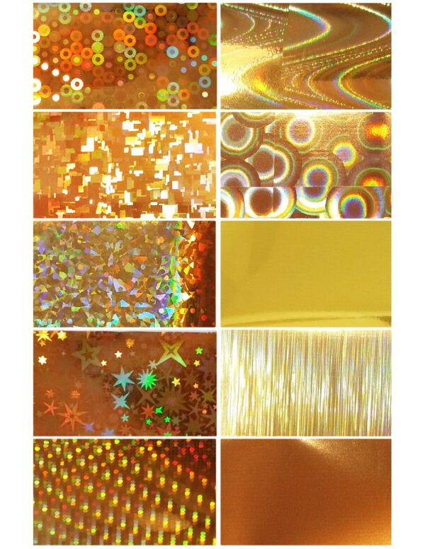 Σετ nail art Foils Set Small FL01