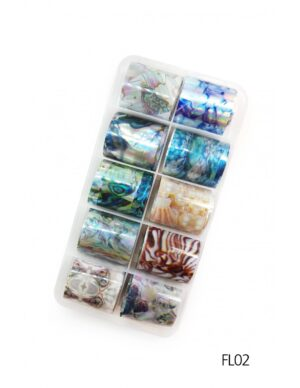 Σετ nail art Foils Set Small FL02