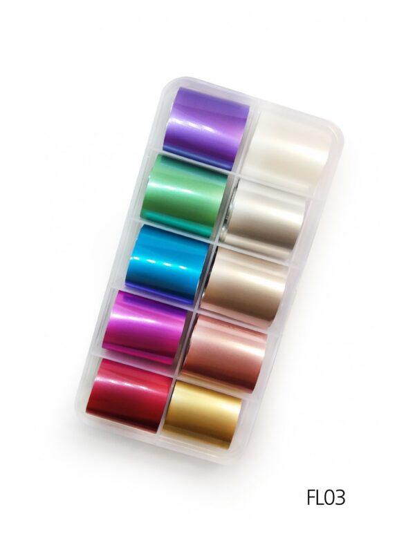 Σετ nail art Foils Set Small FL03