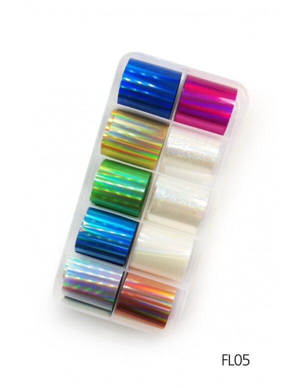 Σετ nail art Foils Set Small FL05