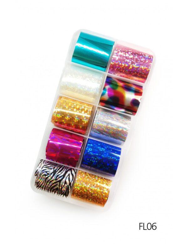 Σετ nail art Foils Set Small FL06