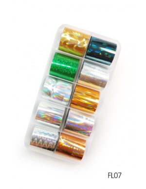 Σετ nail art Foils Set Small FL07