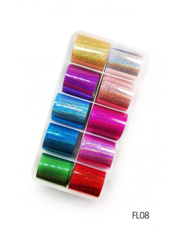 Σετ nail art Foils Set Small FL08