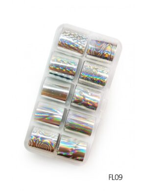Σετ nail art Foils Set Small FL09