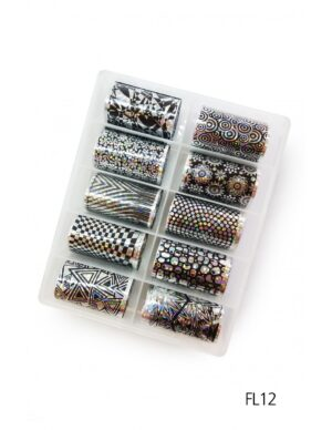 Σετ nail art Foils Set Big FL12