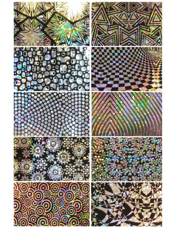 Σετ nail art Foils Set Big FL12
