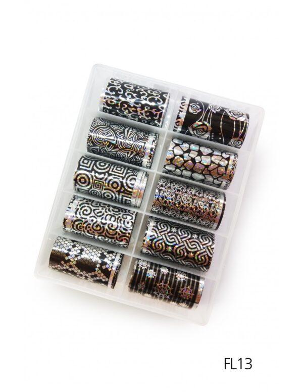 Σετ nail art Foils Set Big FL13