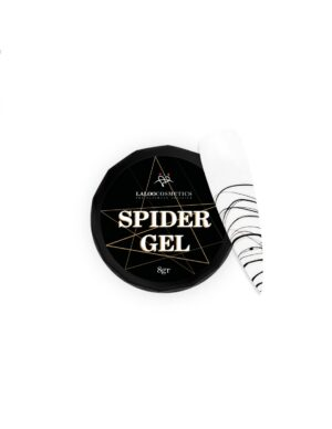Τζελ για nail art Laloo Cosmetics Spider Gel 8g Black