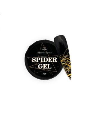 Τζελ για nail art Laloo Cosmetics Spider Gel 8g Gold
